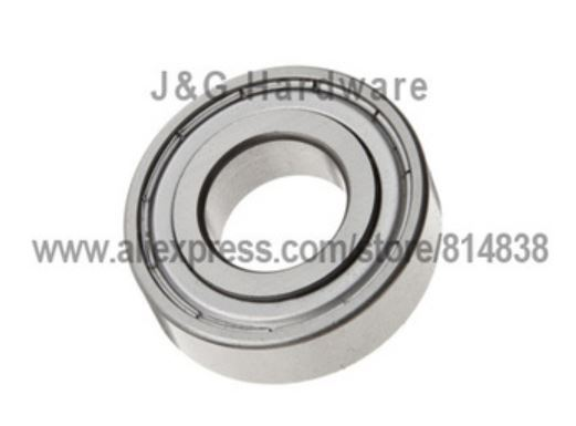 FR2ZZ 1//8x3//8x5//32 inch Miniature Metal Bearing Flanged Ball Bearing 5 PCS