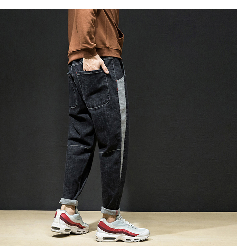 KSTUN Men Joggers Casual Men Pants Male Korean Fashion Trousers Harem Pants Men Spring and Autumn Big Crotch Baggy Teenage Boys 20