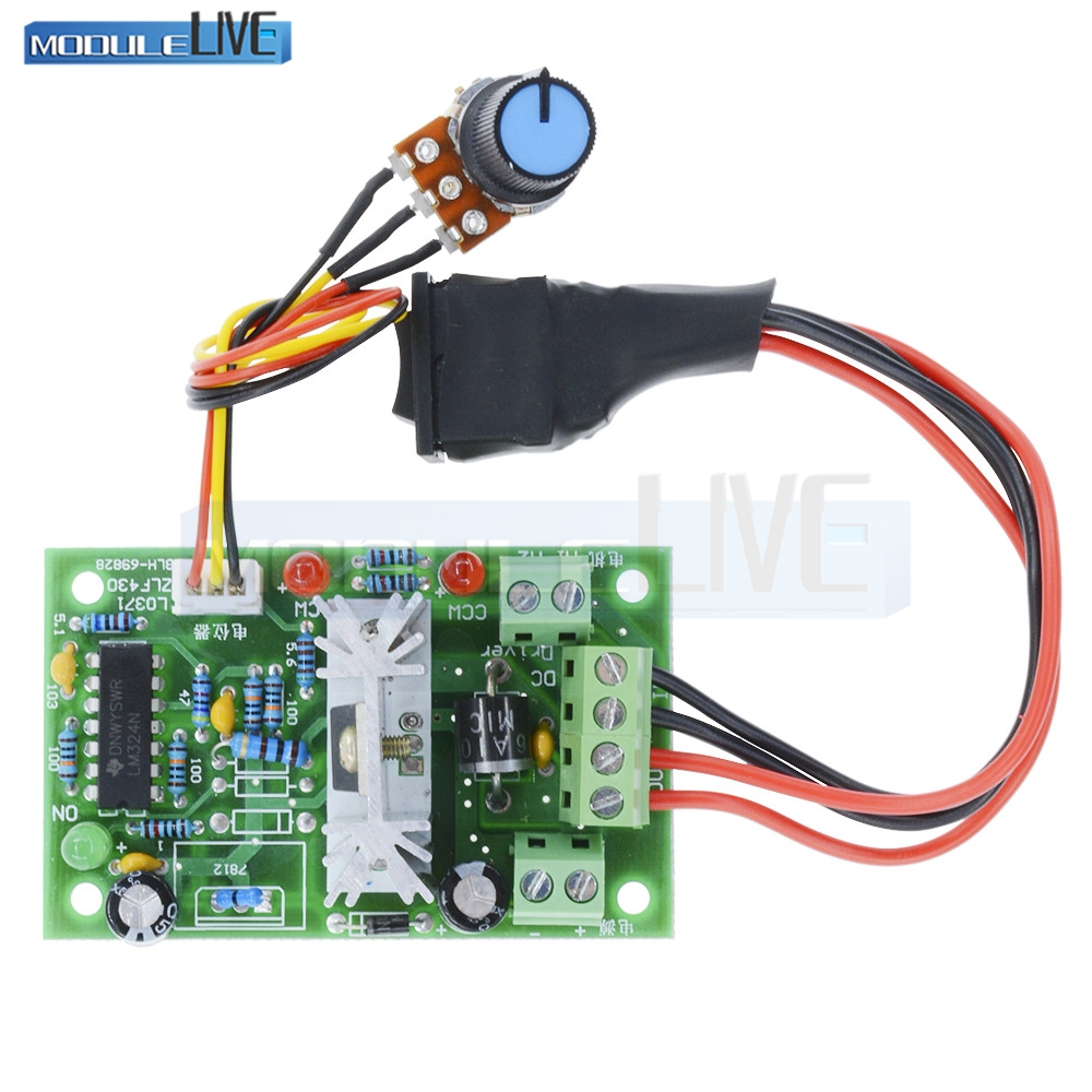 Home Improvement Qualified Wsfs Hot Dc6v-90v 15a Pulse Width Pwm Dc Motor Speed Controller Switch
