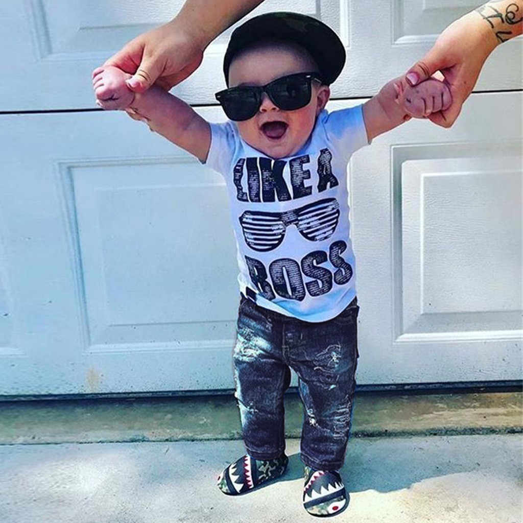 Toddler Kid Baby Boys Letter Baseball Print Vest T-shirt Top Shorts Outfits Set