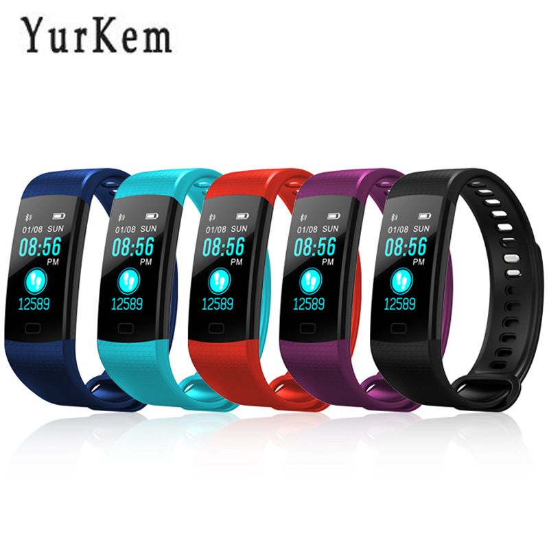 Y5 Smart Bracelet Activity Tracker Color screen Blood pressure smartband watches Podometer Pulsometer wrist watch pk fitbits