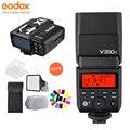 Godox TTL HSS V350C 1/8000 s 2.4G X Sistema de Câmera Flash Speedlite com Construído em Li-ion Battery + x1T-C Transmissor para Canon