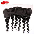 13x4 Ear To Ear Lace Frontal closure Free Part Unprocessed Human Hair Brazilian Wave Lace Frontal