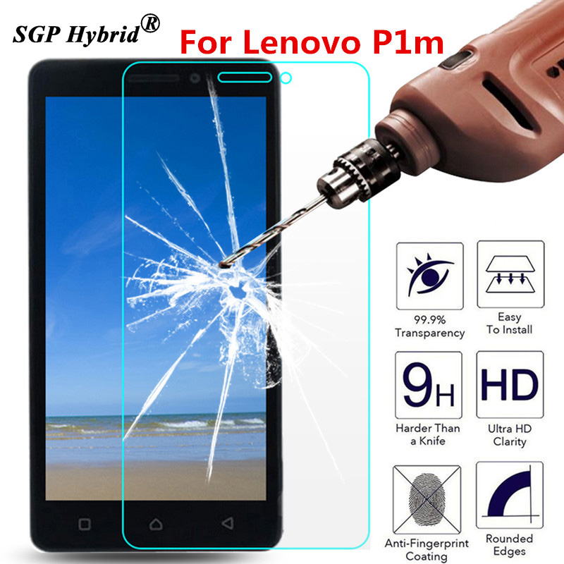Tempered Glass For Lenovo Vibe P1m P1 m P1mc50 P1ma40 5 inch 2.5D 9H Phone Premium Protective Film Screen Protector Case Guard