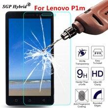 Vidro temperado Para Lenovo Vibe P1m P1 m P1mc50 P1ma40 5 polegada 2.5D 9 H Premium Película Protetora de Tela Do Telefone caso protetor Guarda