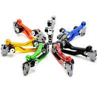 Motorcycle Accessories Motocross Dirt Bike CNC Pivot Brake Clutch Levers For Honda CRF450X 2005 2006 2007