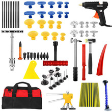 PDR Tools Paintless Dent Repair Tools Dent Removal Dent Puller Tool Kit Reflector Board Puller Tabs