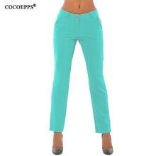 Women Pants Plus Size Skinny Pencil Pants Women Solid Long P
