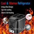 Auto Mini Car home small refrigerator 6L portable heating and cooling box car fridge with compressor small refrigerator