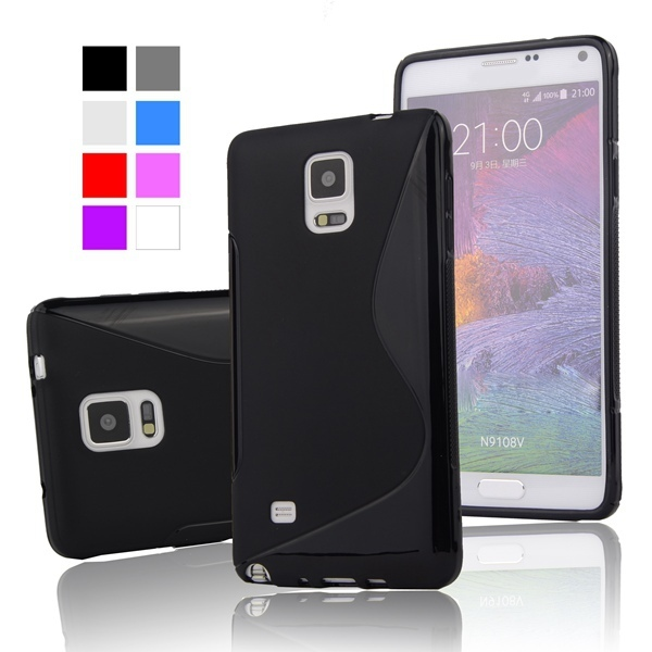 huge selection of 13939 75c77 Aliexpress.com : Buy Note4 S LINE Gel TPU Slim Soft Case for Samsung Galaxy  Note 4 N9100 N910F N910X Mobile Phone Rubber silicone Back Cover from ...