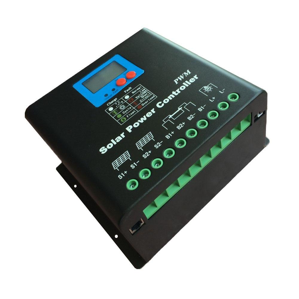 120a Solar Charge Controller 12v 24v 36v 48v 72v 96v 110v 120v Battery Charger With Overcharge Protection Electronic Free Shipping 100a Lead