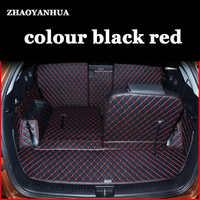 Ajuste personalizado Tapete Mala Do Carro fit KIA Sorento 7 lugares caixa Cauda pad Protector Cushion Manter Limpo Acessórios Interiores