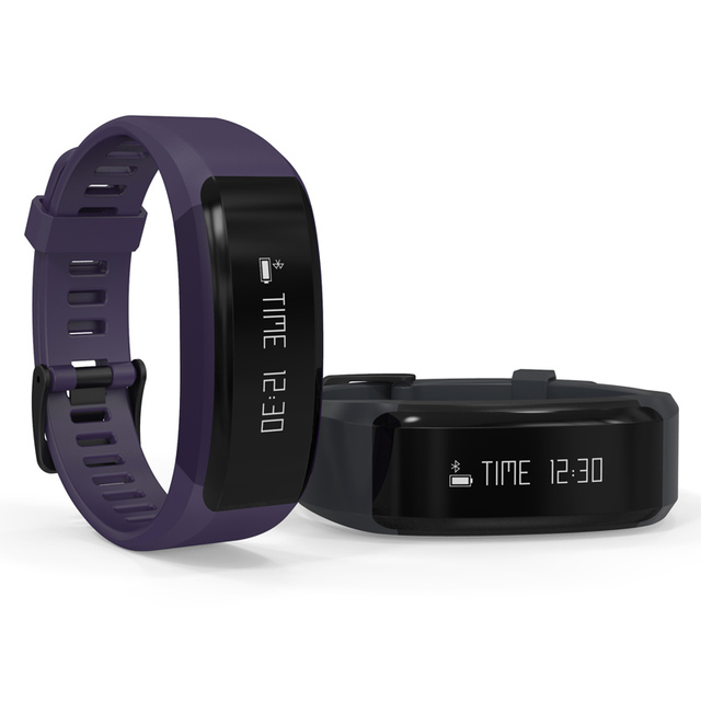 Anti-lost Remind Bracelet Bluetooth HR Heart Rate Monitor Smart Band Wirstband Step for IOS Android Smartphone PK FIT BIT Band