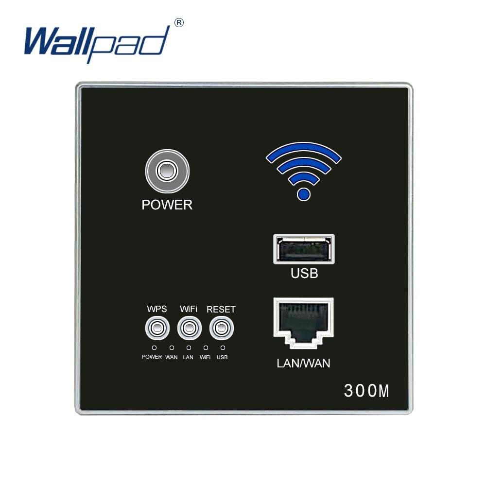 300 M mur intégré Wifi AP routeur prise USB prise prise murale chargeur WIFI prises prise intelligente