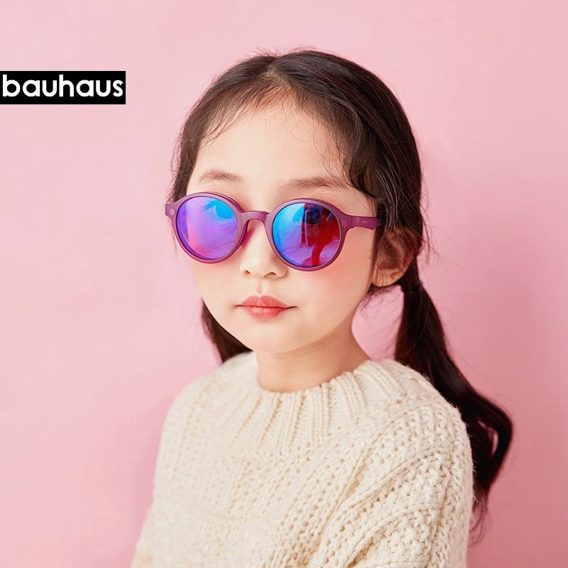 Ultem Kids Glasses Frame Round Fashion Optical Magnet Sunglasses Anti Blue-ray