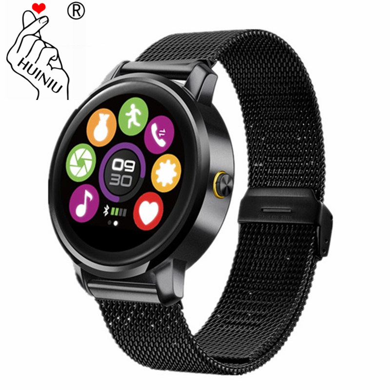 HUINIU F1 Smart Watch Bluetooth 4.0 Answer Call Heart Rate Monitor Remote Control Pedometer Smartwatch For Apple IOS Android wireless service call bell system popular in restaurant ce passed 433 92mhz full equipment watch pager 1 watch 7 call button