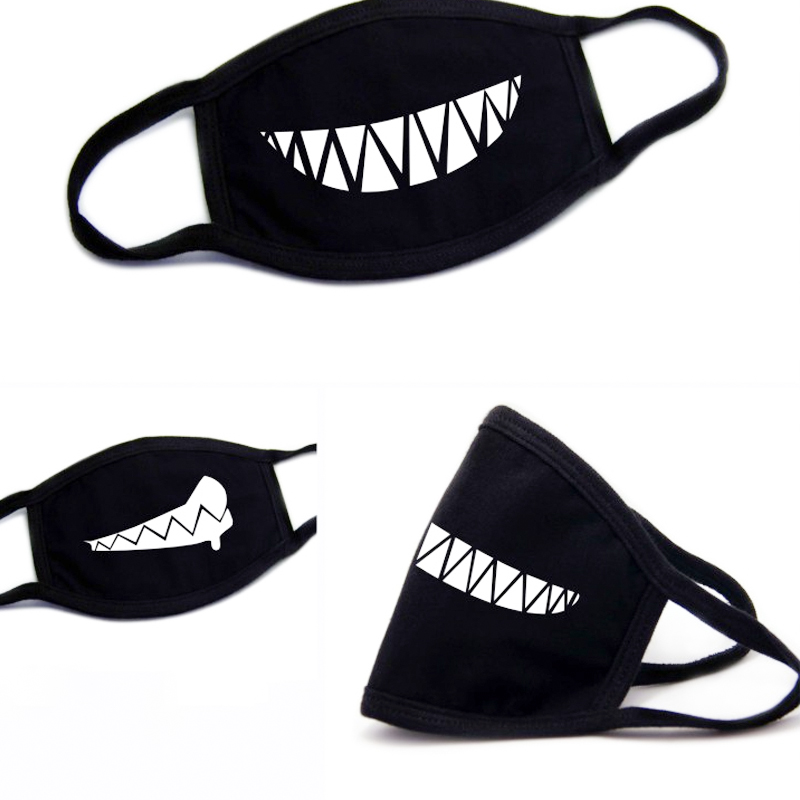 Steady Face Mask Cotton Mouth Mask Black Anti Haze Dust Masks Filter Windproof Mouth-muffle Bacteria Flu Fabric Cloth Respirator Men's Masks