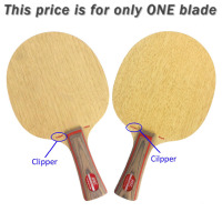 HRT 2091 Clipper Wood Attack Loop Table Tennis Blade For Ping Pong Racket