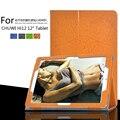 """Para CHUWI Hi12 Oito 12 """"Tablet Folio Tampa do Suporte de Flor Padrão de Impressão de Luxo PU Caso Capa Protetora de Couro + Caneta de Toque"""