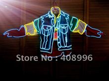 Hot sale EL robot jacket for evening performance/carnival/stage performance