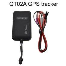Мини портативный 4 диапазона GSM GT02A автомобильный GPS tracker Google ссылка реального времени слежения для Мотоцикла грузовик GPRS/SMS трекер 9 В-36 В