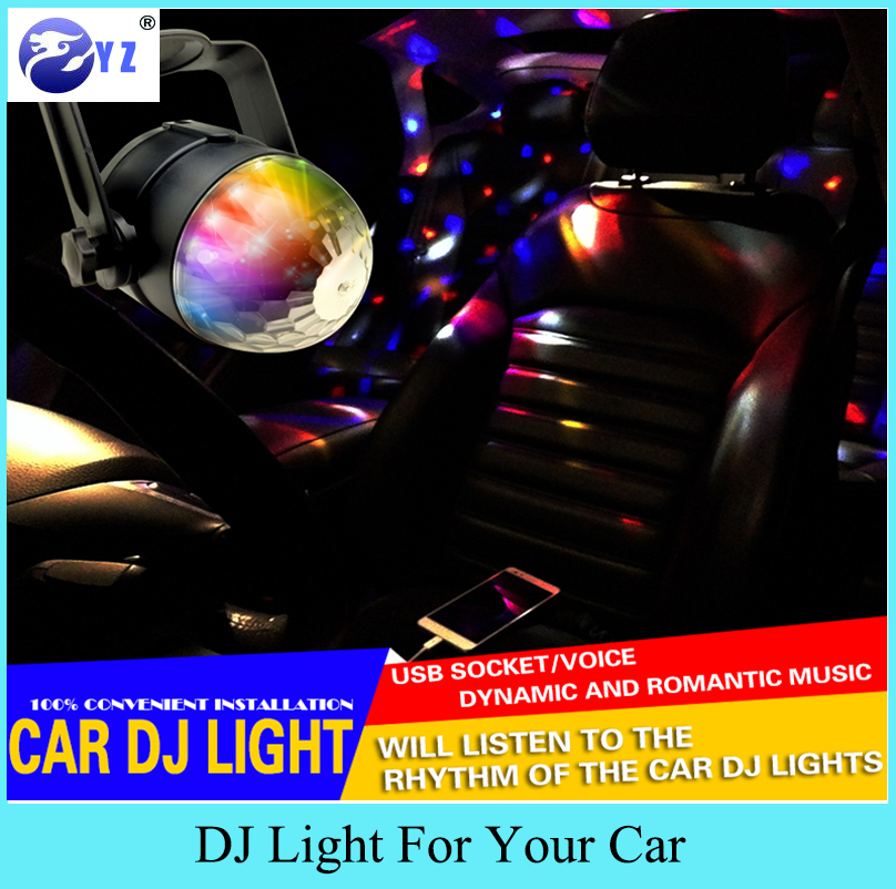 1 шт. RGB музыкальный ритм активация DJ диско сценические эффекты кронштейн линия usb