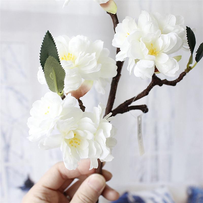 Estremamente High end Simulazione fiori di Ciliegio artificiale Pianta Fiorisce  MX26