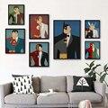 Elegant Poetry Superhero Avenger Batman Iron Man Canvas Painting Print Poster Picture Wall Painting Home Decoratio