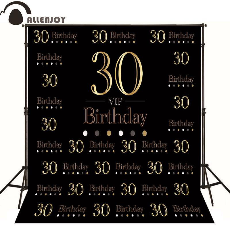 Allenjoy Photography backdrop birthday Luxury elegant aristocrat original design background custom vinyl photocall