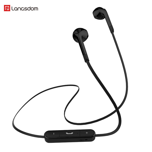 29afeb77c5e Langsdom Newest Bluetooth Sports wireless headphone BL6 Bluetooth Gaming  Headset Stereo free games girls Earbuds Neckband music