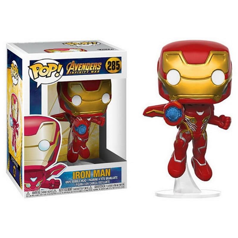Modo caldo Marvel Avengers Infinity War3 Thanos Superhero Action Figure Thor Toys Iron Man Spiderman Capitan America Bambole