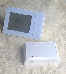 470MHZ 433MHZ programble  Wireless  thermostat with floor heating gas boiler