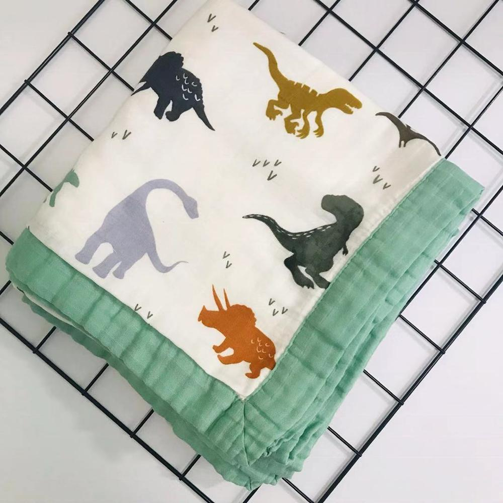2019 New Muslin Quilt Four Layer Bamboo Baby Muslin Blanket Baby Blanket Swaddle Better Than Aden Anais Baby/Blanket Infant Wrap