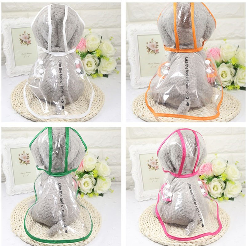 DOGGYZSTYLE Dog Rain Coat Pet Puppy Impermeable Transparente para - Productos animales