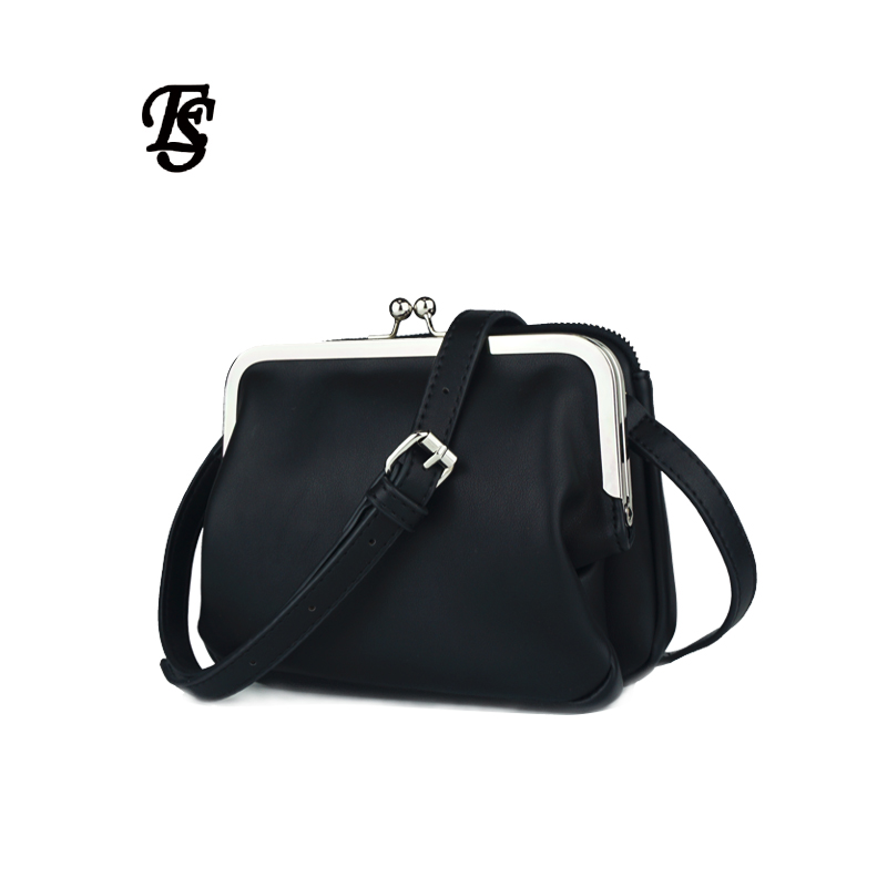 Small square bag female shoulder bag 2019 new arrival PU solid color two layer bag magnetic