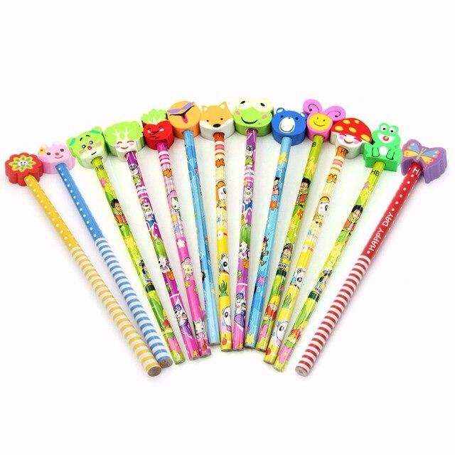 Download Set Of Wooden Writing Tools, Pencil, Pen, Ruler, Eraser, Sharpener