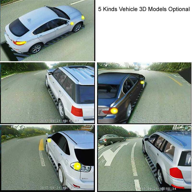 360 Автомобильный панорамный обзор система авто вид птицы панорамная система 4 камеры HD 1080 P Автомобильный видеорегистратор рекордер 3D помощь при парковке