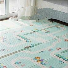 Детский игровой коврик для ползания детский xpe утолщенный детские
