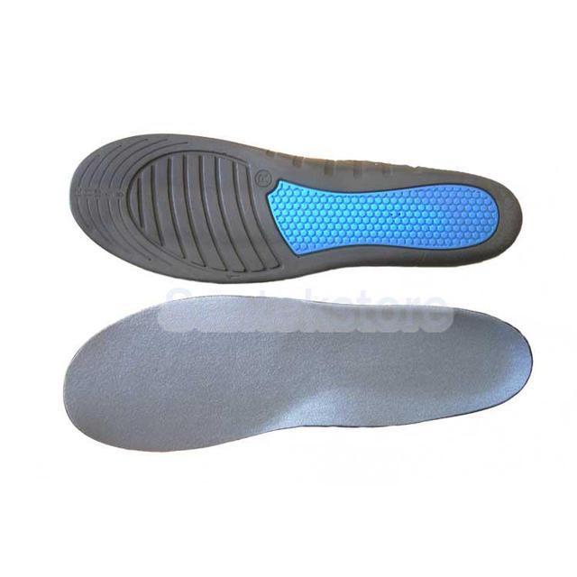 9b85a4c89724 PU Foam Sport Running Insoles Insert Shoe Pad Arch Support Cushion UK 11.5