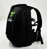 Green Reflective motorcycle knight backpack helmet bag motorcycle riding shoulder bag off road motocross Racing package
