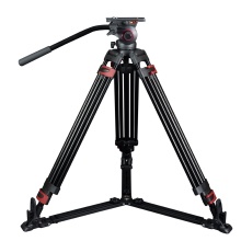 MTT609A Skilled Aluminum Alloy Max 170cm 15KG Load Versatile Digital camera Tripod for Camcorder/Video DSLR Digital camera with carry bag