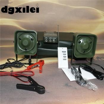 Xilei exterior 50 W altavoz pájaro sonido altavoz amplificador depredador vida silvestre señuelo pájaro llamador Control remoto con temporizador