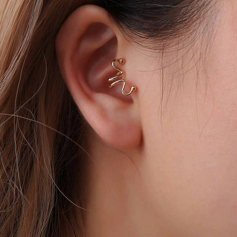 no pierced earcuff clip on earrings gothic ear cuffs for women ear cuff clip orecchini clip earrings no hole ear wraps