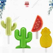 Dropshipping Silicone Popsicle Mold Tray Ice Cream Mold Ice