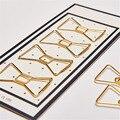 2017 Moda de Oro Papel de Color Clips Accesorios para Notebook Planner Dokibook Páginas Interiores