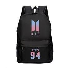 75d9fc49e5 Bts cartable sac à dos Sac À Dos Corée Kpop Bts Impression Cartable Pour  Les Adolescentes