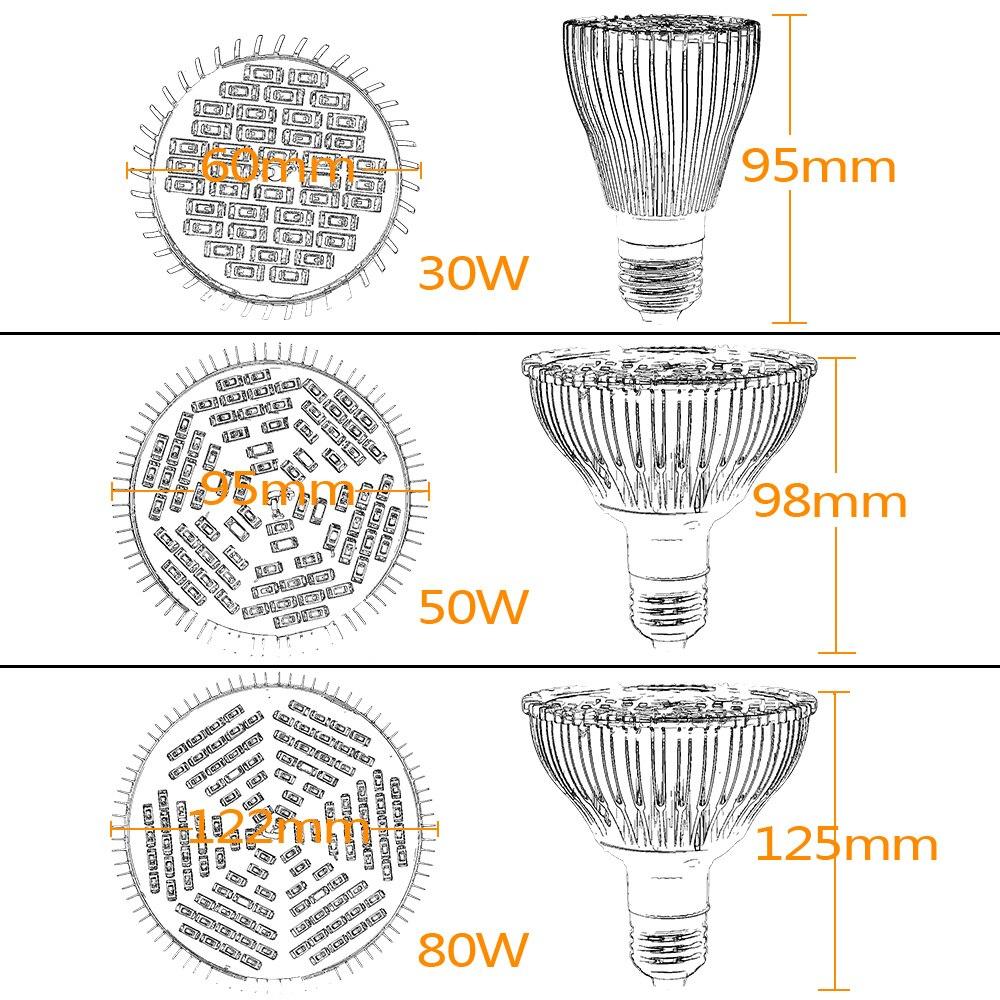 Levou Crescer Luzes lâmpada led ac85 265 v País de Origem : Guangdong, China (mainland)