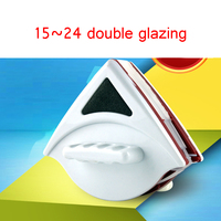 15 24mm Window Cleaning Magnets Brush Magnetic Cleaner Practical Magnetic Glass Wipe Surface Glass Wiper Useful Wash Tool