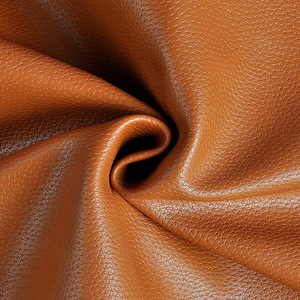 Image 4 - 100*138cm Litchi Synthetic Leather PU Leather Fabric Artificial Faux Leather Fabrics DIY Bags Sofa Decoration Sewing Materials