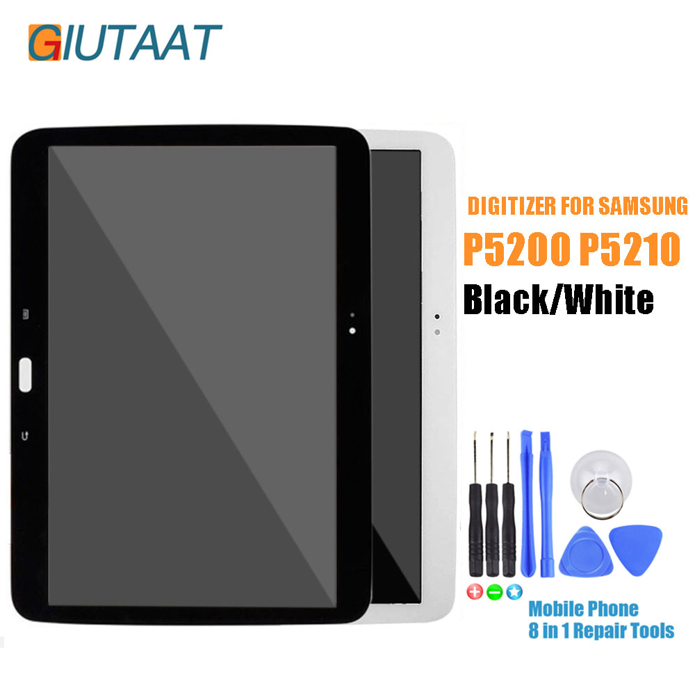 10.1 LCD Display Touch Screen Digitizer Full Assembly with Frame For Samsung Galaxy Tab 3 GT-P5200 P5210 P5200 P521010.1 LCD Display Touch Screen Digitizer Full Assembly with Frame For Samsung Galaxy Tab 3 GT-P5200 P5210 P5200 P5210